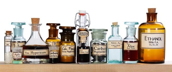 Arzneimittelflaschen, Therapieverfahren