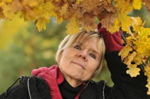 autumn of woman